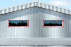 Metal fasade Stock Images