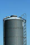 Metal Feed Silo Stock Photography