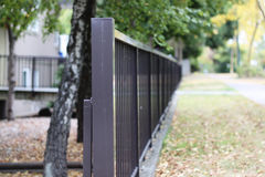 Metal Fence Royalty Free Stock Photos
