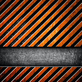 Metal fence background Royalty Free Stock Photography