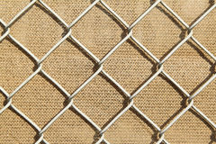 Metal fence background Royalty Free Stock Images