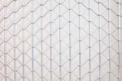 Metal fence background Stock Photography