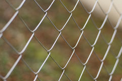 Metal fence Stock Photography