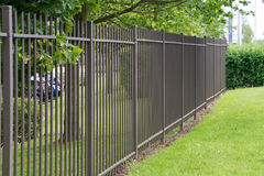 Metal fence Royalty Free Stock Images