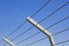 Metal fence. Stock Photos