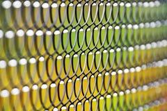 Metal fence pattern Royalty Free Stock Photos