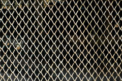 Metal fence wall pattern texture background Royalty Free Stock Images