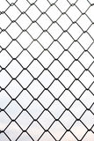 Metal fences in vertical Royalty Free Stock Image
