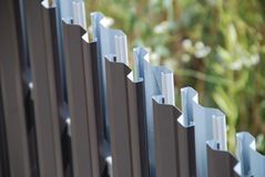 Metal fencing Stock Photos