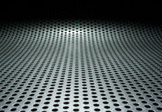Metal field Stock Photography