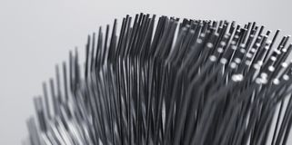 Metal filaments Stock Photos