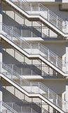 Metal fire escape Royalty Free Stock Image