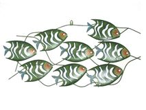 Metal Fish Art Stock Image