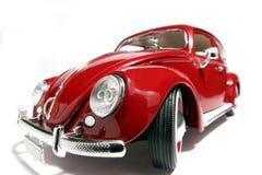 Metal fisheye 1955 di VW Beatle del modello del giocattolo della scala il vecchio Immagini Stock