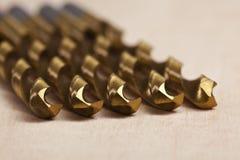 Metal fishing lures. Photos of metal fishing lures Stock Photography