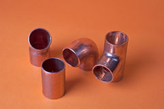 Metal fittings Royalty Free Stock Image