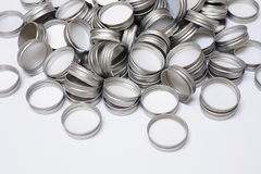 Metal Flaschenkapsel Stockfotografie