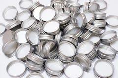 Metal Flaschenkapsel Stockfotos
