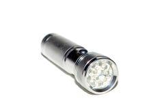Metal flashlight Royalty Free Stock Photo