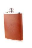 Metal flask Royalty Free Stock Photo