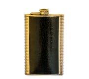Metal flask Stock Image
