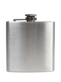 Metal flask Royalty Free Stock Images