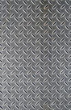 Metal floor cover. Royalty Free Stock Images