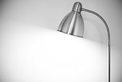 Metal floor lamp Stock Photography