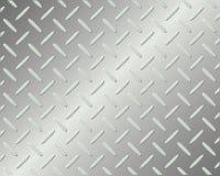Metal floor pattern Royalty Free Stock Photo