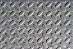 Metal floor texture Stock Images