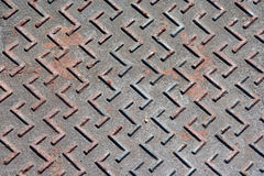 Metal flooring Royalty Free Stock Photo