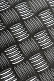 Metal flooring. Grey metal flooring stock photo