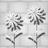 Metal flowers Stock Image