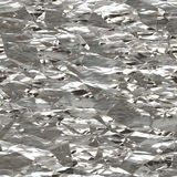 Metal foil seamless Royalty Free Stock Photos