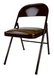 Metal Folding Chair Royalty Free Stock Images