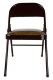 Metal Folding Chair Stock Images