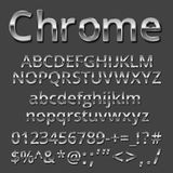 Metal font Stock Photography