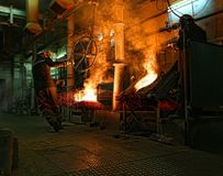 Metal forging Royalty Free Stock Photography