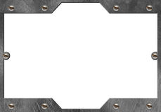 Metal frame Royalty Free Stock Photo