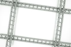 Metal frame Royalty Free Stock Image