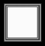 Metal frame. Illustration of metal frame Royalty Free Stock Images