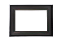 Metal frame. With white background royalty free stock image