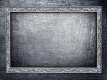 Metal frame background Stock Images