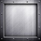 Metal frame background Royalty Free Stock Photo