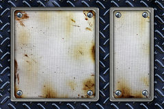 Metal Frame Background Stock Photography