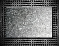 Metal frame background Royalty Free Stock Image