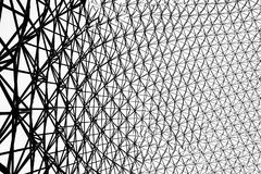 Metal frame of the biosphere in Montreal. A picture of the metal frame of the biosphere in Montreal royalty free stock photography