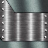Metal frame Royalty Free Stock Image