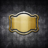 Metal frame on grunge background Stock Photo
