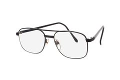 Metal frame old fashion spectacles Stock Photos